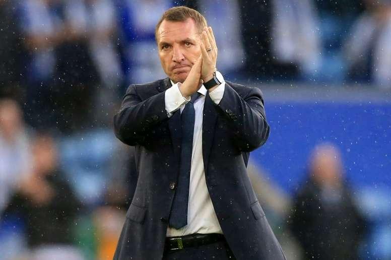 Tottenham a tenté la piste Rodgers avant Mourinho. AFP