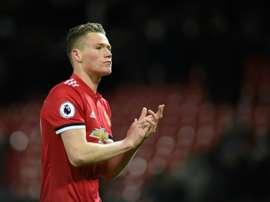 Manchester United renovará com McTominay. AFP