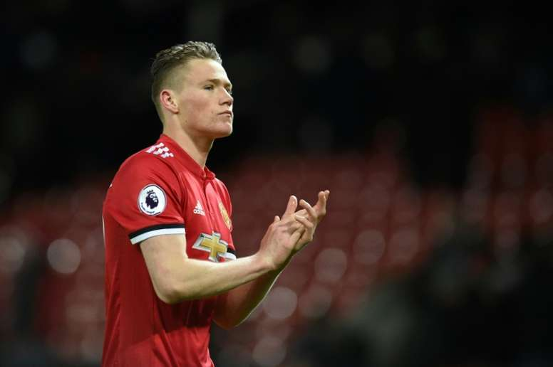 McTominay keen to represent Scotland. AFP