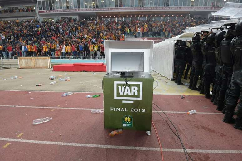 The AFCON will see its first use of VAR which caused problems two months ago. AFP
