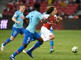 Guendouzi has given strong performances in his first appearances for Arsenal. AFP