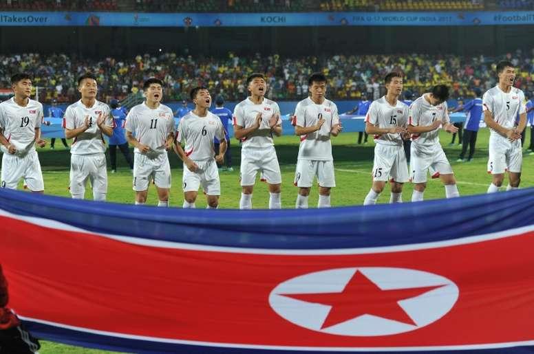 Las dos Coreas han caído en el mismo grupo. AFP/Archivo