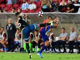 Argentina, Chile stalemate in LA friendly