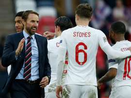 Southgate has given his full support to the FA Respect campaign. AFP