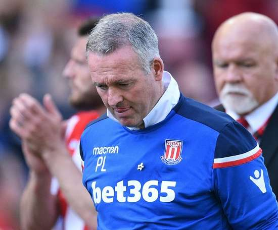 Lambert has been relegated for the second season running. AFP