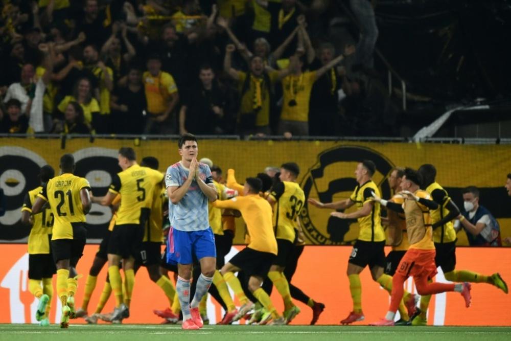 Young Boys foi decisivo para acabar com regra do gol fora. AFP