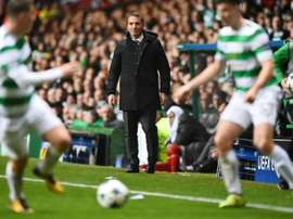 Celtic manager Brendan Rodgers. AFP