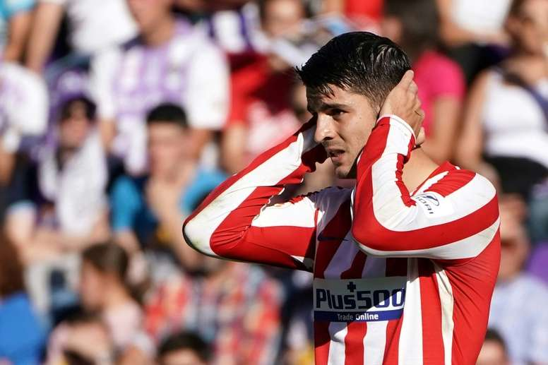 Al Atlético le falta mucho gol. AFP