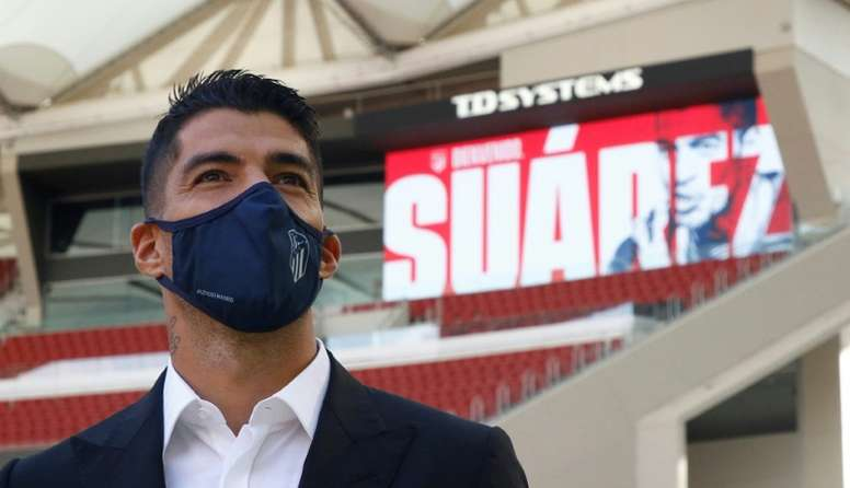 Se veía venir, y Simeone se ha atrevido: Luis Suárez, convocado ante el Granada. AFP