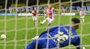 Ajax won 13-0. AFP