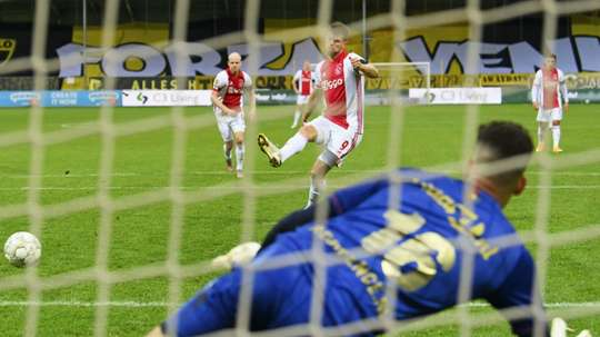 Ajax won 13-0. AFP