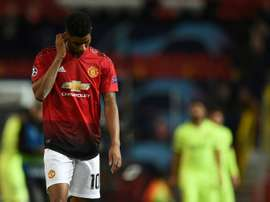 Paul Ince criticised United's performance against Barcelona. AFP