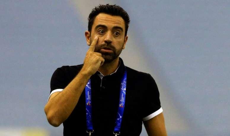 Xavi suena para regresar al Camp Nou. AFP