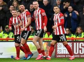 Sheffield Utd players defer wages till end of 2020. AFP