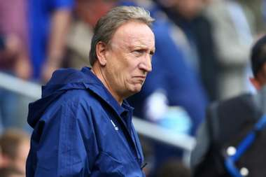 Cardiff City Manager Neil Warnock. AFP