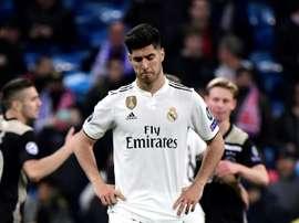 L'esterno offensivo del Real Asensio attualmente é infortunato. Goal