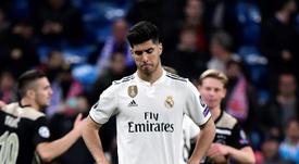 Asensio será operado en Madrid. AFP
