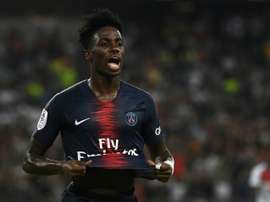 US forward Timothy Weah leaves PSG for Lille. AFP