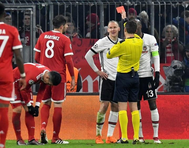 Teixeira y Vida serían baja ante el Borussia Dortmund. AFP