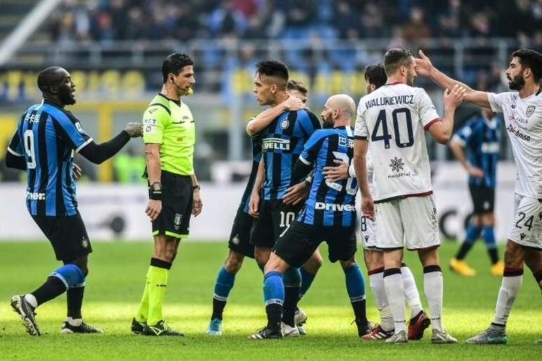 El Barça se reunió con el Inter y los agentes de Lautaro 15 veces: nunca lo fichó. AFP