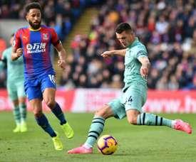 El Arsenal no pudo pasar del empate. AFP