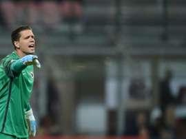 Allegri backs Szczesny to replace Buffon. AFP