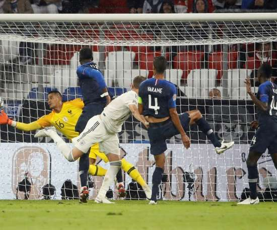 France and Germany played out a goalless draw the last time they met. AFP