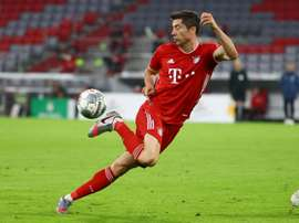 Bayern are in the final of the DFB Pokal. AFP