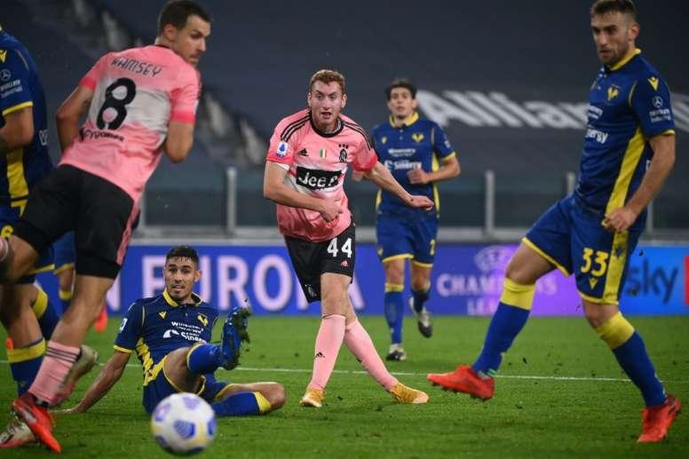Juventus drew 1-1. AFP