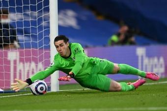 Kepa disputará su tercer encuentro en la presente temporada. AFP