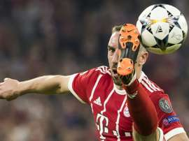 Ribery is desperate for another title. AFP