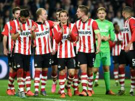 El PSV reaccionó y le endosó una goleada al Roda. AFP