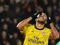 Arsenal drew 1-1. AFP