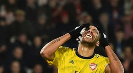 Aubameyang wanted to become the best paid player at Chelsea ever. AFP