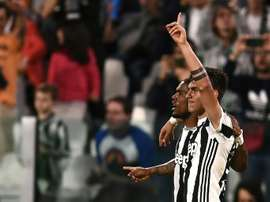 Juve are now on the brink of claiming the title. AFP