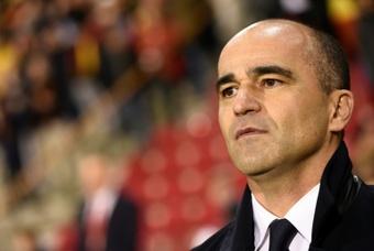 El Barça ya ha contactado con Roberto Martínez. AFP