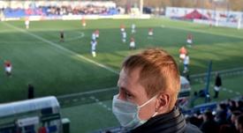 Piden a Bielorrusia que pare la liga. AFP