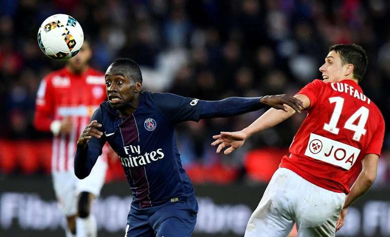 PSG struggle against defensive teams - Matuidi
