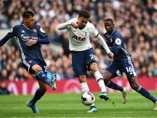 Alli saves Spurs from another defeat to bottom club Watford. AFP