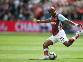 Ayew nods West Ham to victory at Burnley. AFP