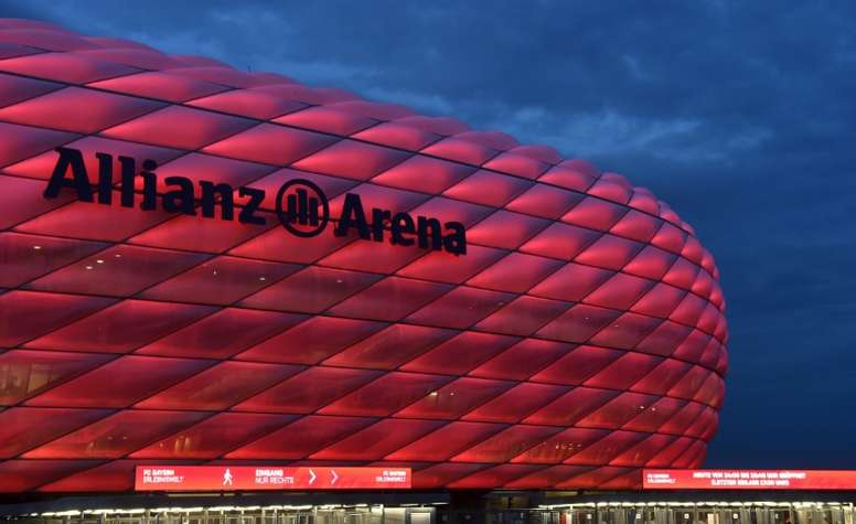 La reapertura del Allianz Arena se tambalea por el COVID-19. AFP