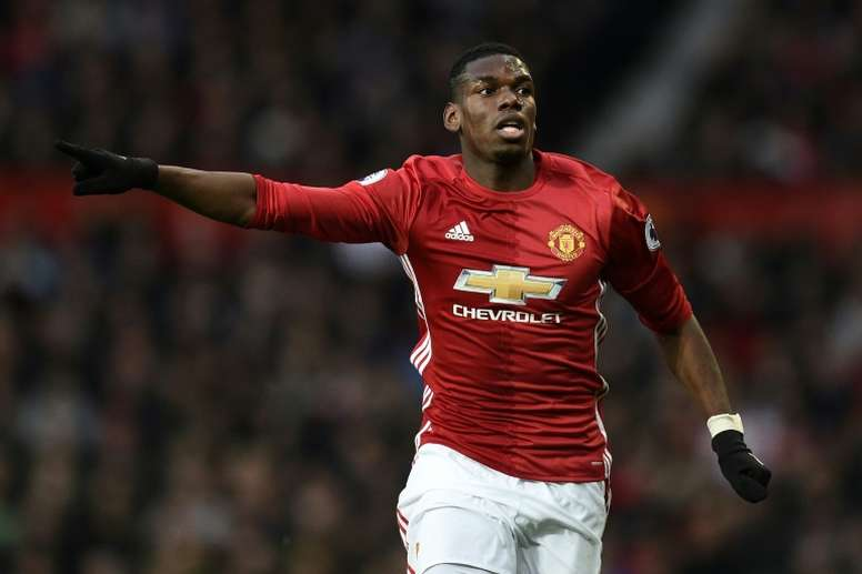 Pogba has scored this season just two goals. AFP