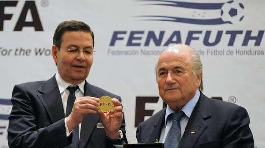 Ex-Honduras president disgraced by FIFAgate dies aged 76. AFP