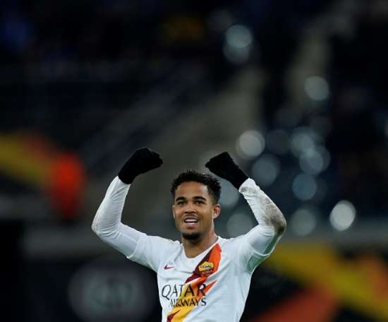 Kluivert quer ficar na Roma. AFP