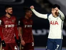 'Proud' Son bags 100th Spurs goal as Leeds crumble. AFP
