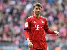 Thomas Muller says it is his first international break. AFP