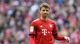 Thomas Muller says it is his first international break. AFP