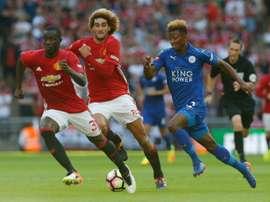 O jovem ponta leva pouco mais de uma temporada e meia com os 'foxes'. AFP