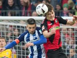 El veterano Ibisevic reforzaría la delantera del Bayern de Múnich en enero. AFP
