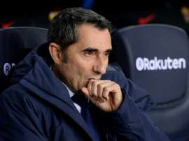 Ernesto Valverde could give a number of young players a chance to shine. AFP